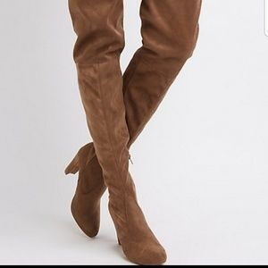 Charlotte Russe Thigh High Boots sz 9w
